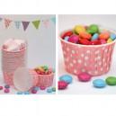 Cupcake Förmchen rosa
