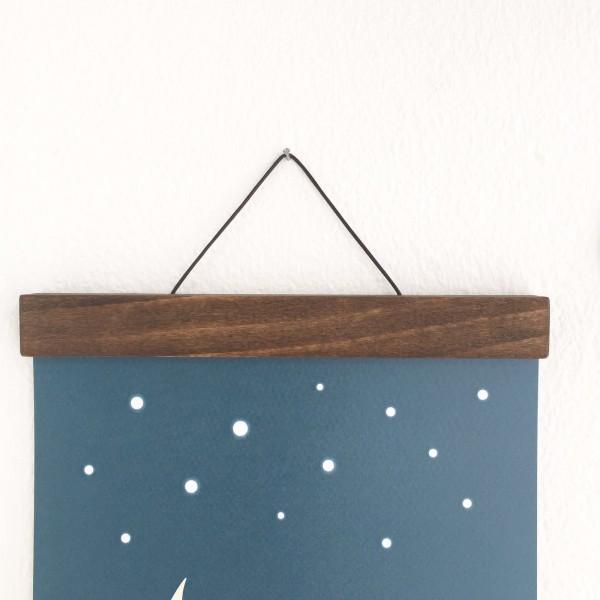 bilderleiste aus buche lasiert verspieltes. Black Bedroom Furniture Sets. Home Design Ideas