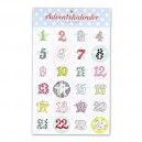 Sticker Adventskalender von krima&isa