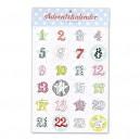 Sticker Adventskalender von krima&isa