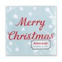 Servietten Merry Christmas von Krima & Isa
