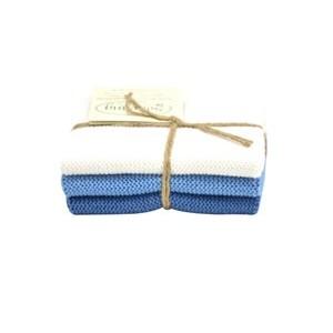 Solwang Wischlappen weiß blau