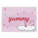 Postkarte Yummy von Krima & Isa