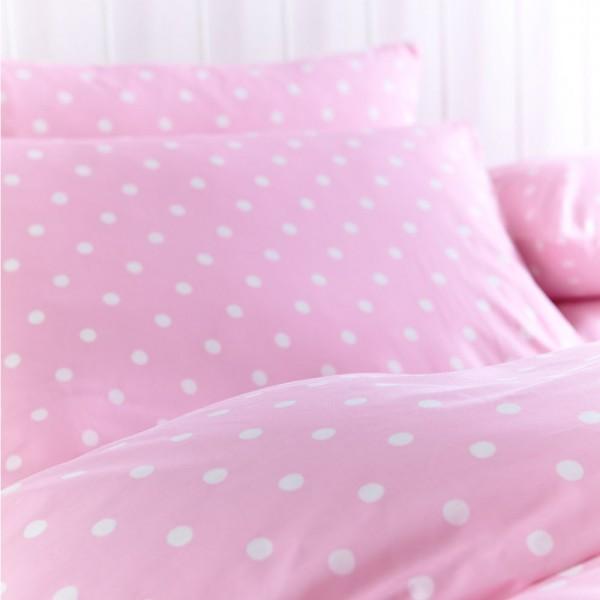 Bettwasche Rosa Punkte