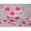 Wimpelkette Äpfel rosa aus an apple a day Frühling