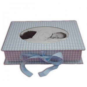 Fotobox Vichy bleu von Semikolon