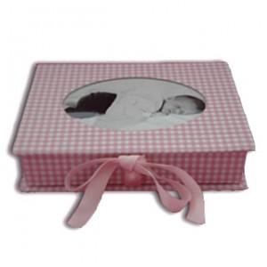 Fotobox Vichy rosé von Semikolon