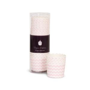 Paper Eskimo Cupcake Förmchen rosa chevron