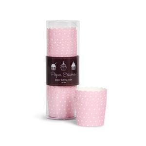 Paper Eskimo Cupcake Förmchen rosa/weiss gepunktet