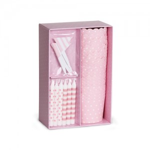 Paper Eskimo Cupcake-Set rosa