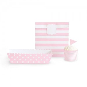Paper Eskimo Decor-Set rosa
