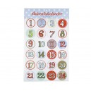 Sticker Adventskalender