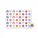 Buttonset Eulen