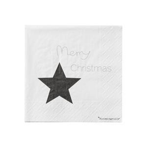 """Papierservietten """"Merry Christmas"""" von Bloomingville"""
